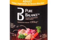 Pure Balance Dog Food Reviews, Grain free, Calories, Ingredients